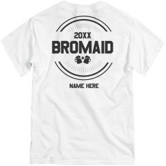 Custom Bromaid and Beer Tee