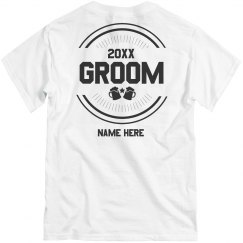 Custom Groom and Beer Tee