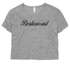 Classic Bridesmaid Script