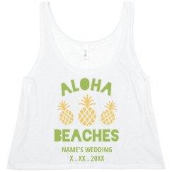 Customizable Aloha Beaches Design