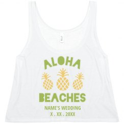 Customizable Aloha Beaches Design