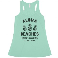 Custom Trendy Aloha Beaches