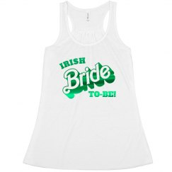 Irish Bride To Be Green Metallic