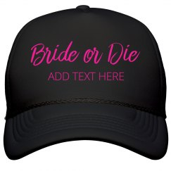 Custom Neon Bride Or Die