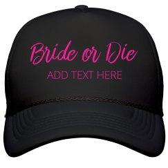 Custom Neon Bride Or Die