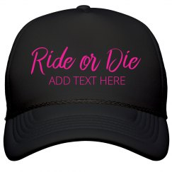 Bride's Ride Or Die Neon