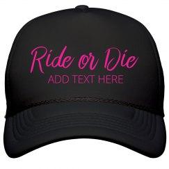 Bride's Ride Or Die Neon