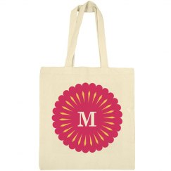 Monogram Bridesmaid Tote Bag