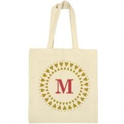 Monogram Team Bride Tote Bag