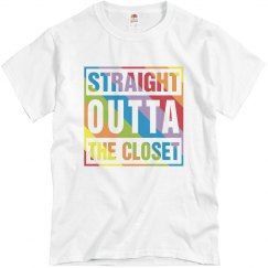 Men's Straight Outta Closet