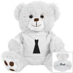 Bride Dress Teddy Bear