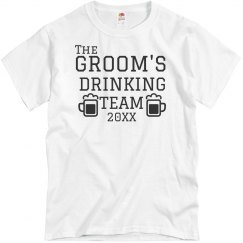 The Groom's Drinking Team
