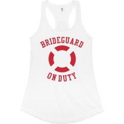 Brideguard on Duty V-Neck