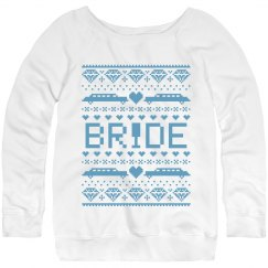 Christmas Bride Sweater
