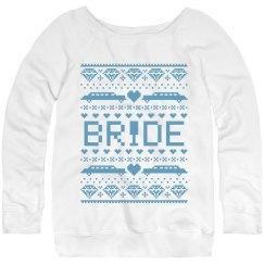 Christmas Bride Sweater
