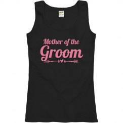 Mother of Groom Bold Text