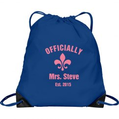 Bride Drawstring Bag