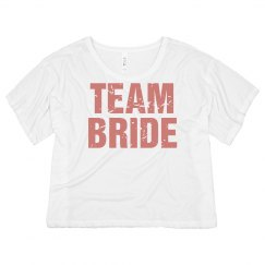 Distressed Team Bride