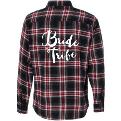 Bride Tribe Flannel Shirt