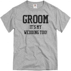 Groom's Wedding Too