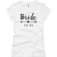Bride To Be Heart Arrow