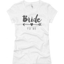 Bride To Be Heart Arrow