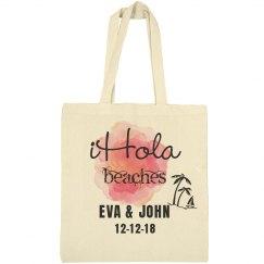 Hola Beaches Wedding Welcome Bag