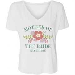 Cute Floral Mother Of The Bride