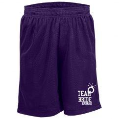Team Bride Shorts