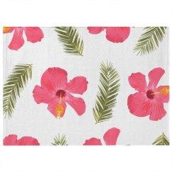 Flower Print 5 x 7 Rug