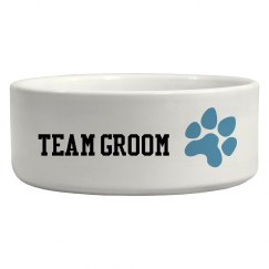 Team Groom Dog Bowl