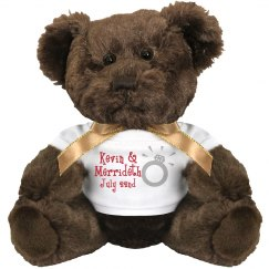 Cute Ring Bear Couple