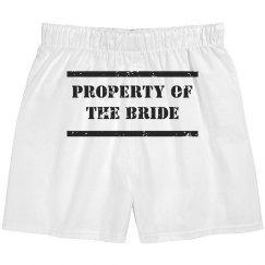 Bride's Property Boxers
