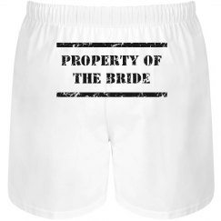 Bride's Property Boxers