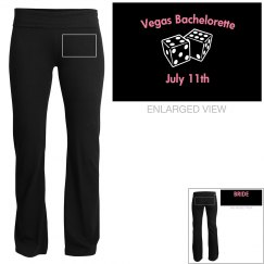 Bachelorette Pants w/Back