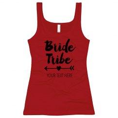 Custom Bride Tribe Heart Arrow