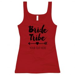 Custom Bride Tribe Heart Arrow
