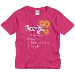 Flower Girl List Tee