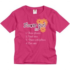 Flower Girl List Tee