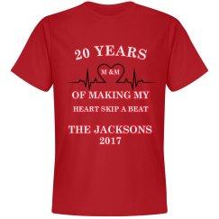 Skip A Beat Anniversary T