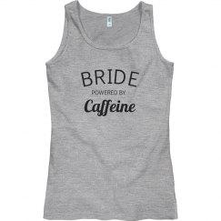 Bride powered by caffeine