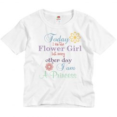 Flower Girl Princess Tee