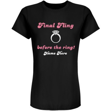 Final Fling Bridal