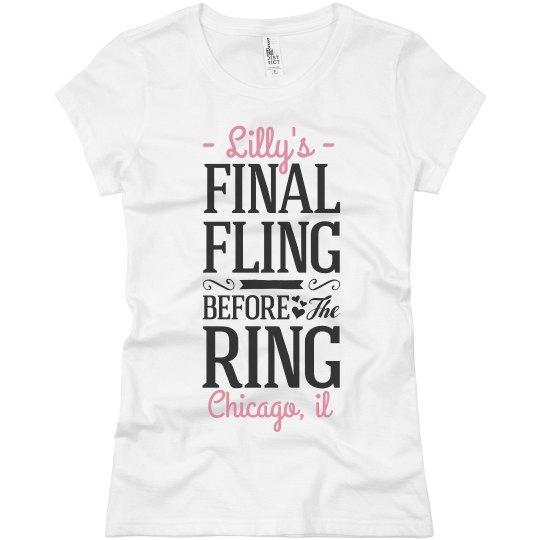 Final Fling Tee