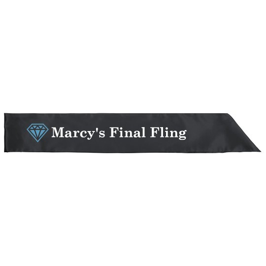 Final Fling Vegas Sash