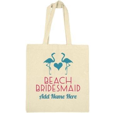 Flamingo Beach Bridesmaid