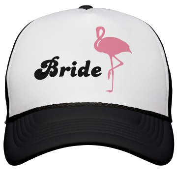 Flamingo Bride Hat