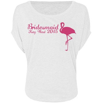Flamingo Bridesmaid