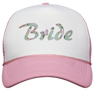 Floral Bridal Hat