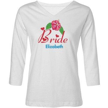 Floral Bride Tee
